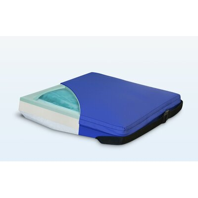 Apex Core Wedge Gel-Foam Cushion in Royal Blue Size: 2 - 4 H x 18 W x 16 D