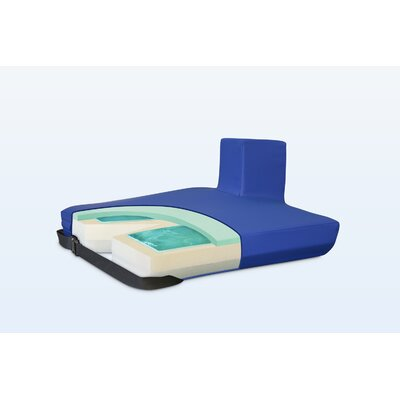 Apex Core Coccyx Pommel Gel-Foam Cushion in Royal Blue Size: 3 H x 18 W x 16 D
