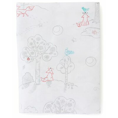 Fox and The Finch Toile 200 Thread Count 100% Cotton Fitted Sheet