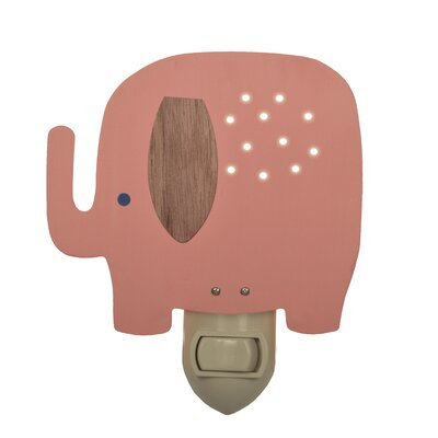 Elephant Night Light Color: Pink