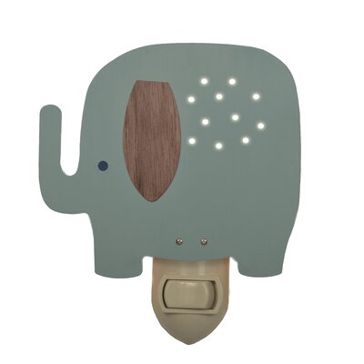 Elephant Night Light Color: Blue