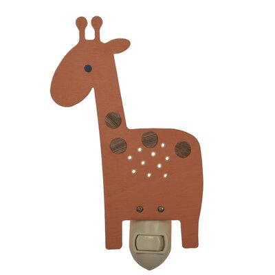 Giraffe Night Light Color: Orange