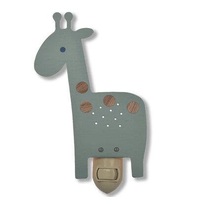 Giraffe Night Light Color: Blue