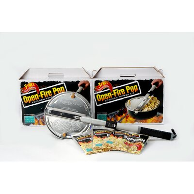 Wabash Valley Farms Open Fire 4 Quart Popcorn Popper Kit at Sears.com