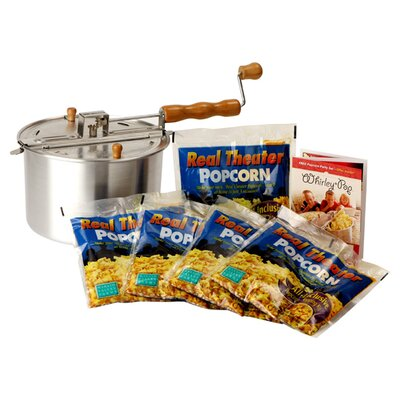 Wabash Valley Farms Whirley Pop Theater Gift Set - Color: Silver at Sears.com