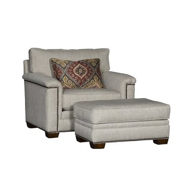 Southbridge Armchair and Ottoman