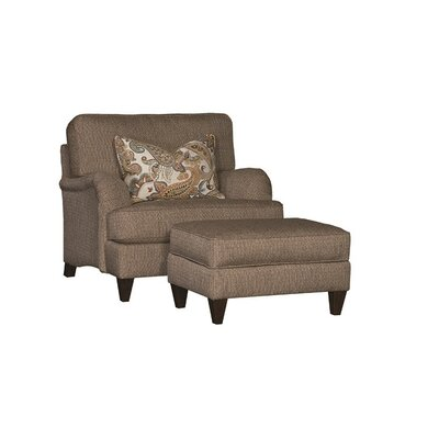Springfield chair and a half and Ottoman
