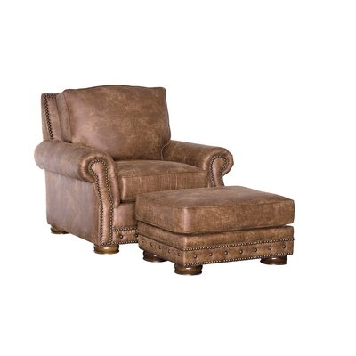 Stoughton Armchair and Ottoman