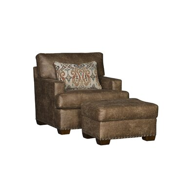 Taunton Armchair and Ottoman