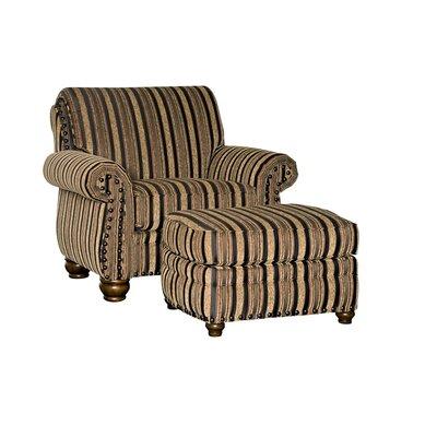 Waltham Chair and half and Ottoman
