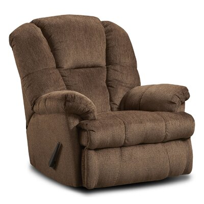 Orange Recliner Upholstery: Brown/Hillel Chocolate