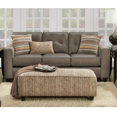 Whately Sofa Upholstery: Fandango Mocha