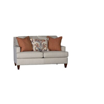 Stow Loveseat Upholstery: Abaco Haze