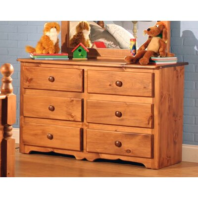 Conway 6 Drawer Double Dresser