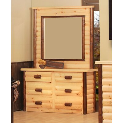 Chester 6 Drawer Dresser with Mirror