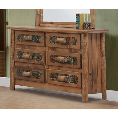 Framingham 6 Drawer Double Dresser