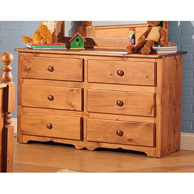 Charlton 6 Drawer Double Dresser