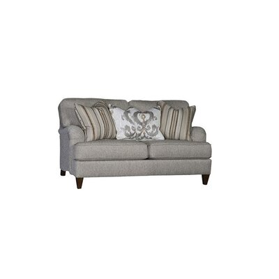 Springfield Loveseat Upholstery: Countess Silver