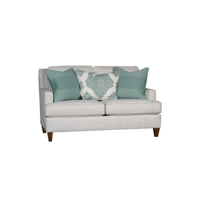 Stow Loveseat Upholstery: Downton Mist