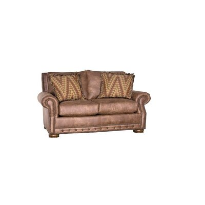 Stoughton Loveseat Upholstery: Palance Chestnut