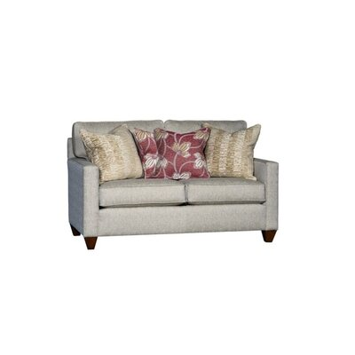 Sutton Loveseat Upholstery: Patmos Brass