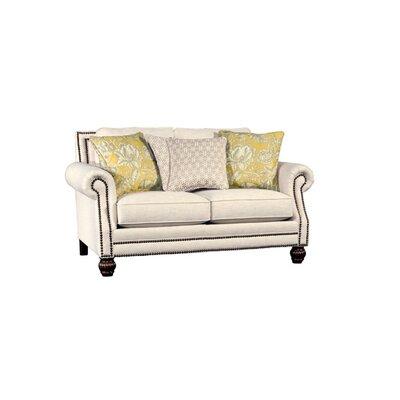 Swampscott Loveseat Upholstery: Kurtz Linen