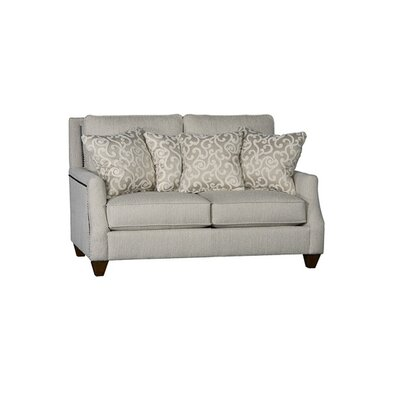 Tolland Loveseat Upholstery: Clarion Cream