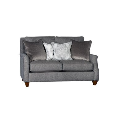 Tolland Loveseat Upholstery: Abaco Mink