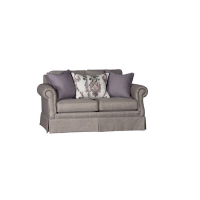 Stockbridge Loveseat Upholstery: Downton Sienna