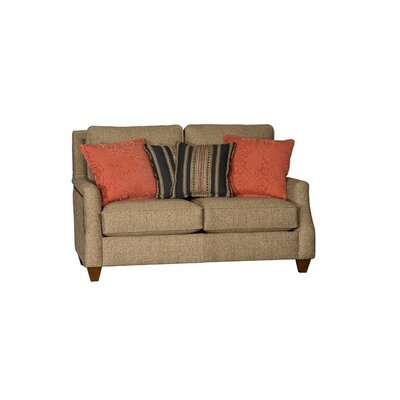Tolland Loveseat Upholstery: Showstopper Timber