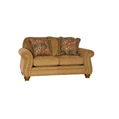 Uxbridge Loveseat Upholstery: Macy Chestnut