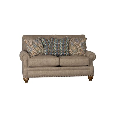 Wales Loveseat Upholstery: Tuscan Sandalwood