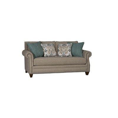 Tyngsborough Loveseat Upholstery: Baird Flax