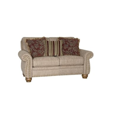 Waltham Loveseat Upholstery: Buoy Taupe