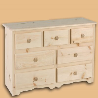 Laird 7 Drawer Double Dresser