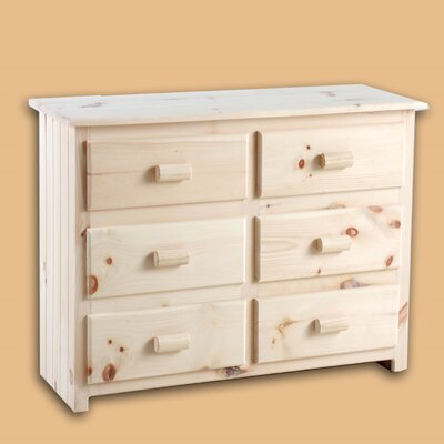 Laddie 6 Drawer Double Dresser