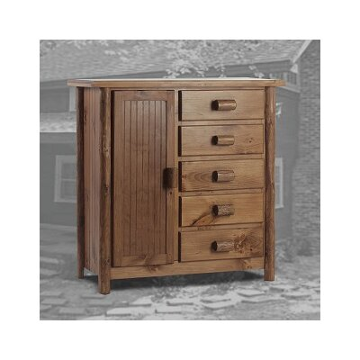 Easthampton 5 Drawer Gentlemans Chest