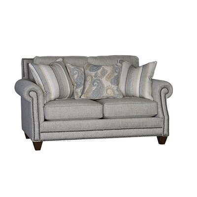 Walpole Loveseat Upholstery: Desiree Fog