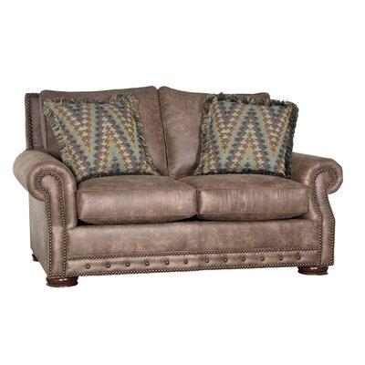 Stoughton Loveseat Upholstery: Palance Silt