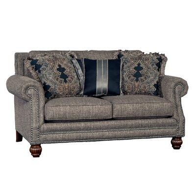 Swampscott Loveseat Upholstery: Tuscan Tweed