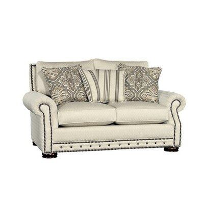 Stoughton Loveseat Upholstery: Starla Pearl