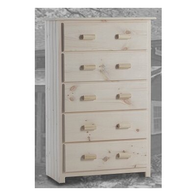 Burlington Cabin Super 5 Drawer Chest
