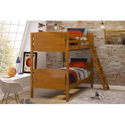 Twin Bunk Bed Color: Honey