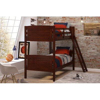 Twin Bunk Bed Color: Chocolate