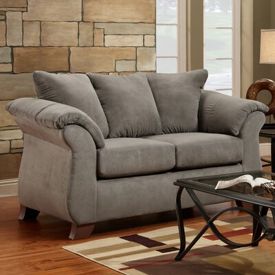 Payton Loveseat Color: Gray