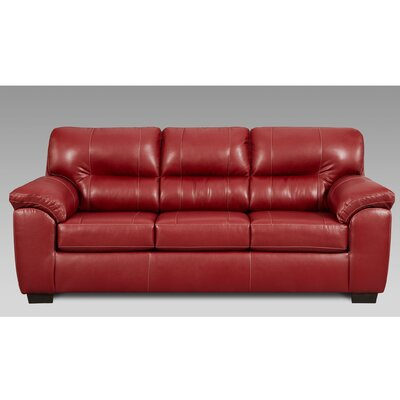 Gardner Sofa Upholstery: Red