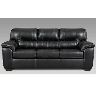 Gardner Sofa Color: Black