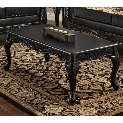 Coffee Table Finish: Black