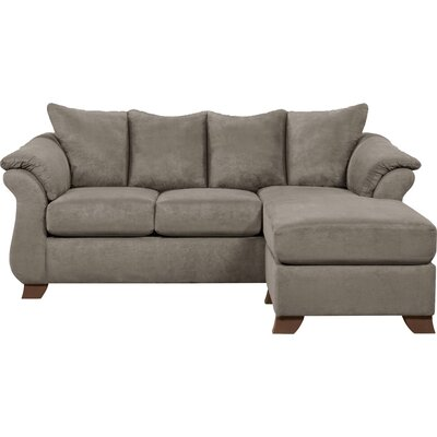 Payton Sectional Upholstery: Gray