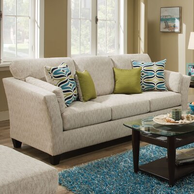 Tully Sofa Upholstery: River Run Natural